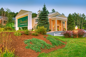 Exterior view of The Point Hotel at Castle Hill Resort & Spa.