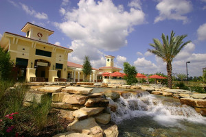 Exterior view of Holiday Inn Club Vacations at Orange Lake Resort.