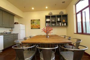 Guest kitchen at Greenhorn Creek Resort.