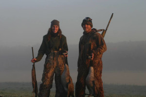 Hunting at Andy Myers Lodge