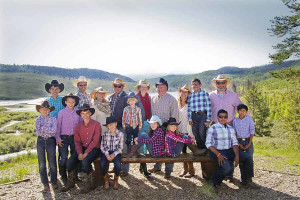Family reunions at C Lazy U Ranch.