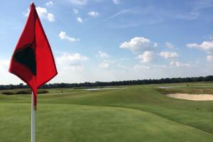 Golf course near Hollywood Casino Tunica.