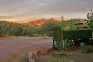 Exterior view of Circle Z Ranch.