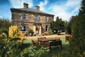 Exterior view of Horton Grange Country House Hotel.