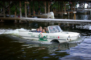Water car at Ludlow's Island Resort.