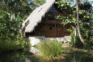 Exterior view of Cloudforest Ecolodge El Monte.