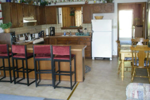 Guest kitchen at Sunset Beach Resort.