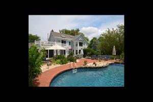 Outdoor pool at Beaver Dam Creek House.
