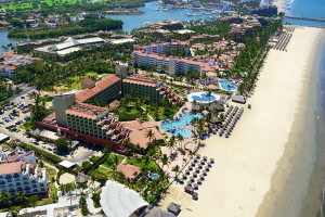Aerial view of Royal Club Grand Nuevo Vallarta All Inclusive Resort.