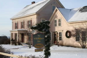 Exterior view of The Wildflower Inn.