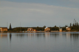 Cabins at Lac Perdu Resort Cabins & Outfitters.