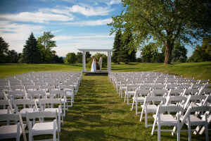 Wedding at McGuire's Resort.