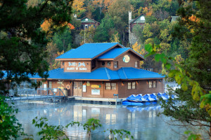 Exterior view of Big Cedar Lodge.