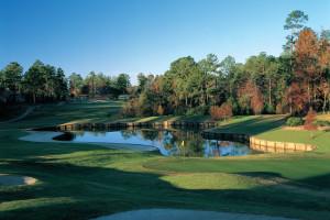 Golf course near Perdido Beach Resort.