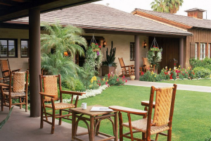 Patio at Smoke Tree Ranch.
