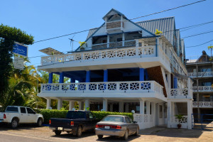 Exterior view of Sea Front Inn.