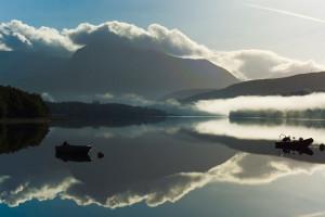 View of Loch near West Highlands.