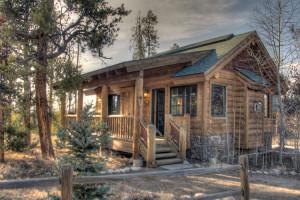 Cabin at Wild Horse Inn.