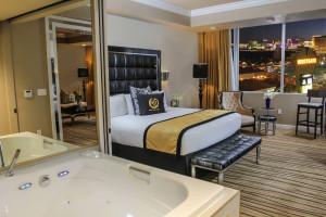 Guest room at Westgate Las Vegas Resort & Casino.