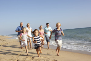 Family reunions at Beacher's Lodge Oceanfront Suites.
