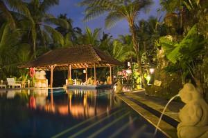 Outdoor pool at Bali Spirit.