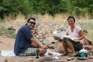 Picnic at Red Agave Resort.