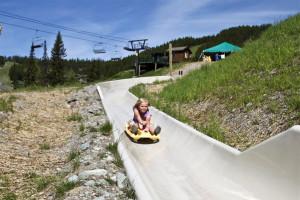 Alpine slide at Kandahar Lodge.