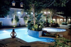 Pool at Kura Hulanda Resorts Curacao.