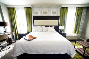 Guest Room at Hampton Inn & Suites Washington DC-Navy Yard
