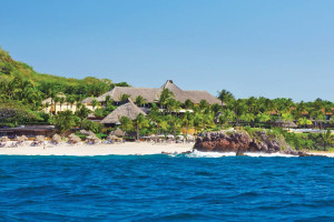 Exterior view of Four Seasons Resort Punta Mita.