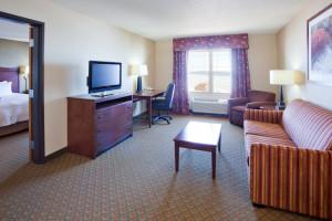 Guest suite at Hampton Inn Duluth.