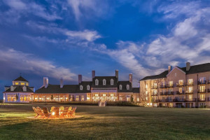 Exterior view of Salamander Resort & Spa.
