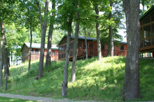 Cabins at Timberwoods Resort.