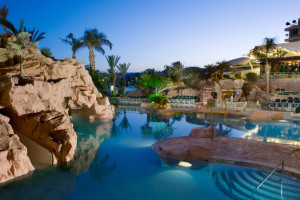 Outdoor pool at Dan Eilat.