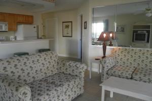 Condo interior at Brunswick Plantation Resort.