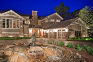 Residence Club exterior at Tullymore Golf Resort.