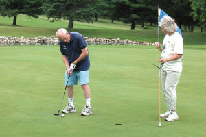 Golfing near Eagles on the River Vacation Rentals.