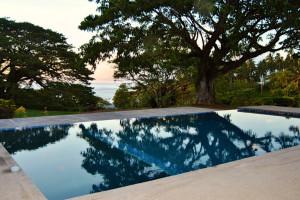 Outdoor pool at Dive Taveuni Resort.