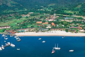 Exterior view of Hotel do Frade & Golf Resort.