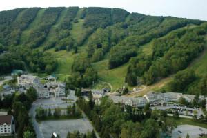 Mountain view at Jiminy Peak Mountain Resort.