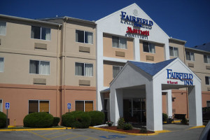 Exterior view of Fairfield Inn Kansas City Lee's Summit.