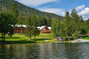 Exterior view of Tyax Mountain Lake Resort.