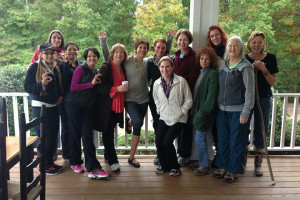 Group at Dahlonega Spa Resort.