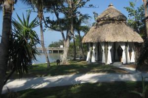 The beach at Little Palm Island Resort & Spa.