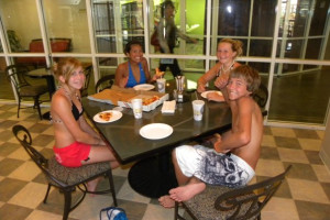 Dining at Perdido Beach Resort.