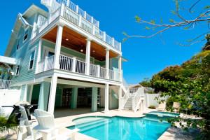Rental pool at Island Real Estate.