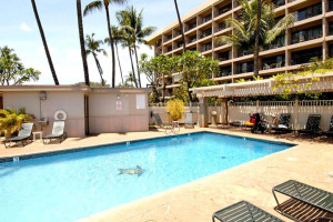 Outdoor pool at Kihei Akahi.