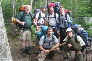 Scenic hiking groups at Northern Outdoors.