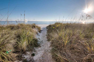 Beach at Southern Vacation Rentals.