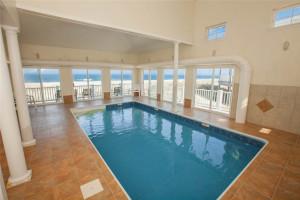 Rental indoor pool at Sandbridge Realty.